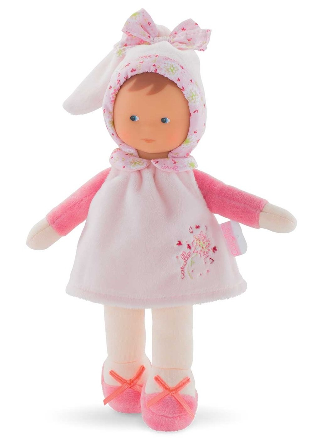 Fleur coton, Miss babypop Corolle, Corolle miss Fleur, knuffelpopje fleur