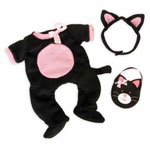 Baby Stella - Dress up kitty outfit