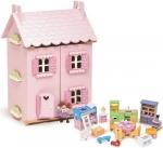 Poppenhuis My first dreamhouse met meubels - Le Toy van