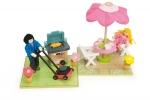Patio & BBQ set - Le toy van