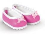 Corolle - Schoentjes donker roze - 36 cm