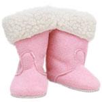 Roze suede laarzen - Götz