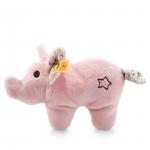 Mini knuffelvarken met rammelaar - 11cm- Steiff