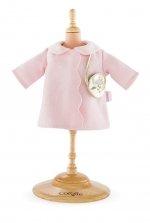 Corolle - Roze jas met gouden schoudertas - 36cm