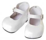 Witte schoentjes - 51cm - Adora