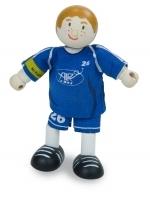 Poppenhuispop - voetballer nr 26 - Le Toy Van