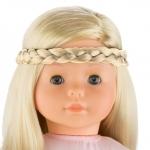 ma Corolle - Haarband met vlecht blond