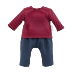 Corolle - Gestreept outfit - 36cm