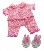 Baby Stella - Pyjama en slofjes - 35cm