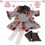 Christmas outfit - 45-50cm - Götz