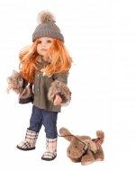 Hannah roodharig en haar hondje - Götz