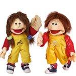 Uniek! - Tweeling Handpoppen Ping en Lou