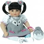 Adora Toddler Time Baby Silver Fox - 51cm