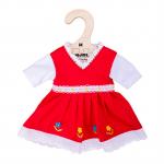 Bigjigs Rode jurk 30cm
