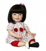 Adora Toddler Time Baby Mila met roze jurkje - 51cm