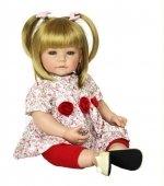 Adora Toddler Time Baby Amy met roze jurkje - 51cm