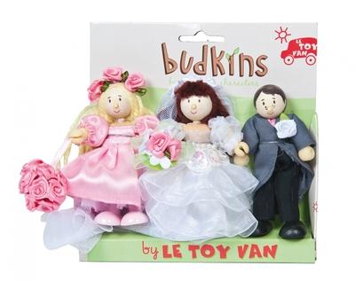 Budkins - Trouwerij poppen