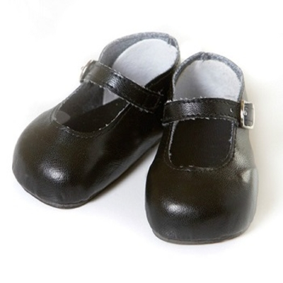 Toddler Time Baby Shoes - Mary Jane Black