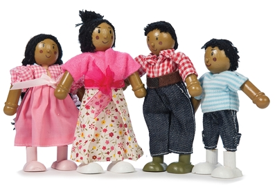 Poppenhuispoppen - Leuk gezin!