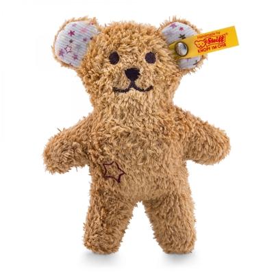 Mini knuffelbeer met rammelaar - 11cm - Steiff