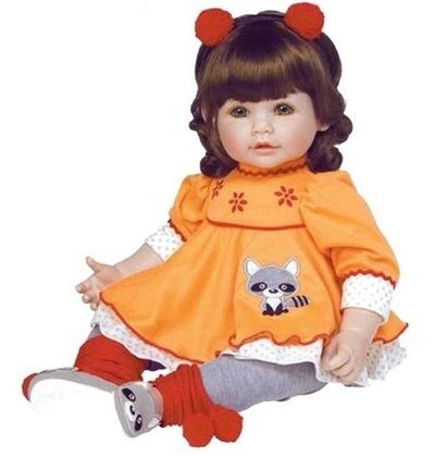 Toddler Time Babies - Macaraccoon Adora