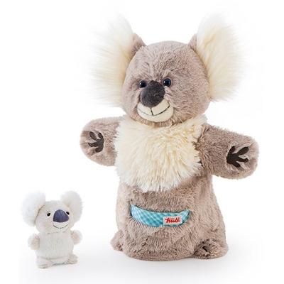 Trudi Handpop Koala met baby - 25 cm