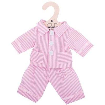 Bigjigs - 30cm - Roze pyjama