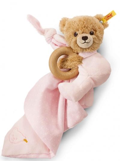 Steiff Baby Rammelaar roze - 16cm