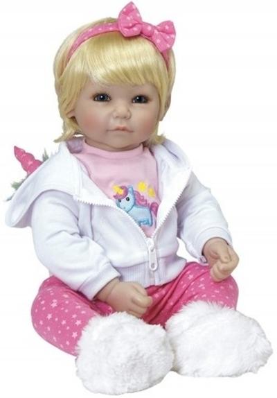 Adora - Toddler Time Baby - Rainbow Unicorn - 51cm