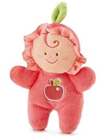 Trudi - appel-popje met rammelaar - 9cm