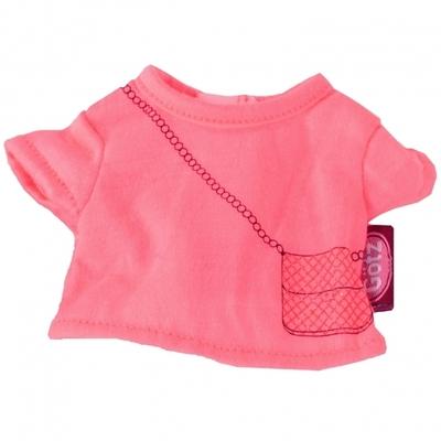 Shirt neon roze - 27cm - Götz