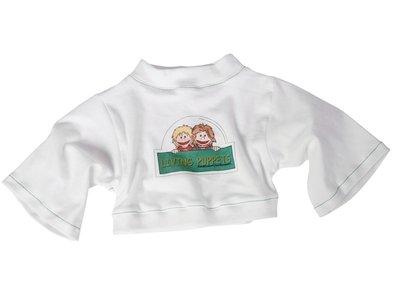 Shirt wit met groen - 65cm