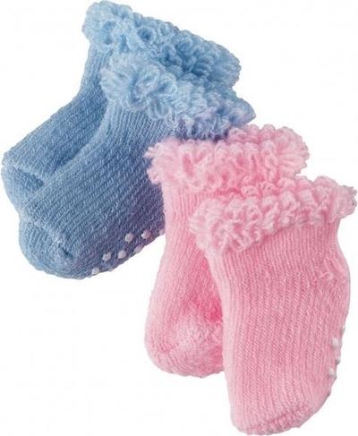 Blauw en roze antislipsokjes - Götz