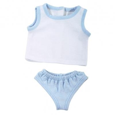 Ondergoed blauw - 33cm- Götz