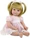 Adora Toddler Time Baby Amy met gebreid jurkje - 51cm