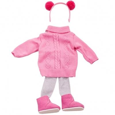 Roze kledingset - 45-50cm - Götz