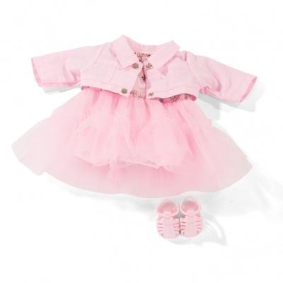 Roze kledingset - 30-33cm - Götz